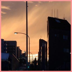 IMG 0116 300x300 - 夕焼けに虹🌈