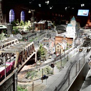 鉄道模型ジオラマ−1
