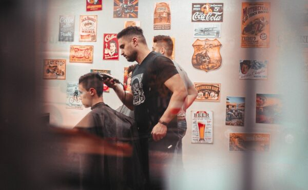 barber写真