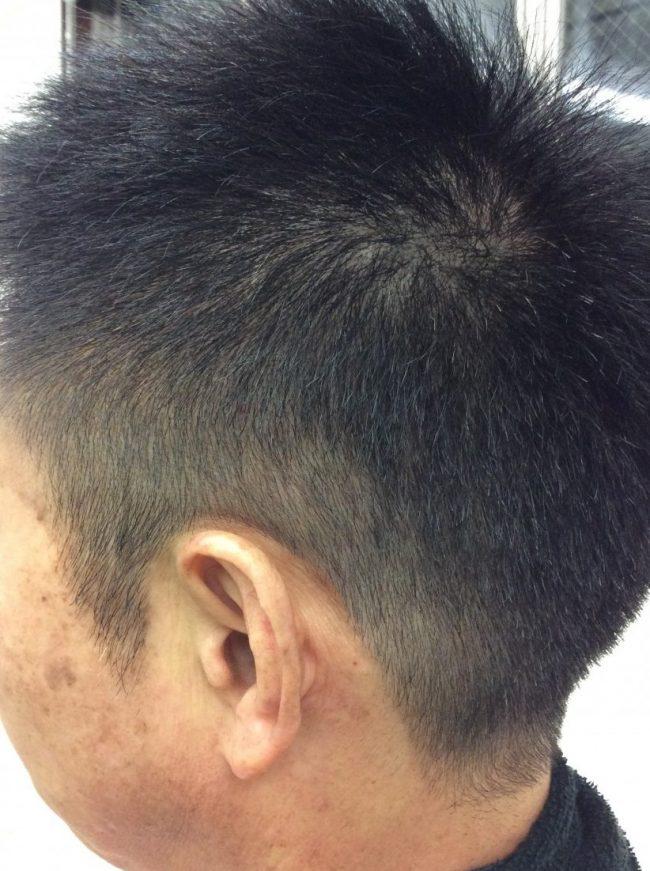 IMG 0109 e1458015110203 - 男の白髪染め!メンズにオススメの香草カラー