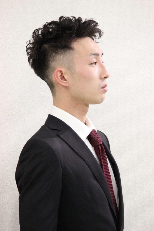 IMG 6749 - 春のパーマスタイル〜刈り上げショート編〜